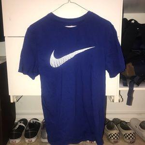nike blue t shirt